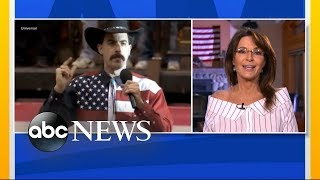 Sarah Palin responds to Sacha Baron Cohen prank - ABCNEWS