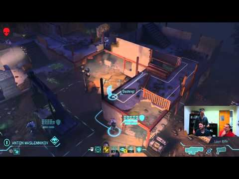 XCOM: Enemy Unknown Live Gameplay with Jake, Casey, and Greg