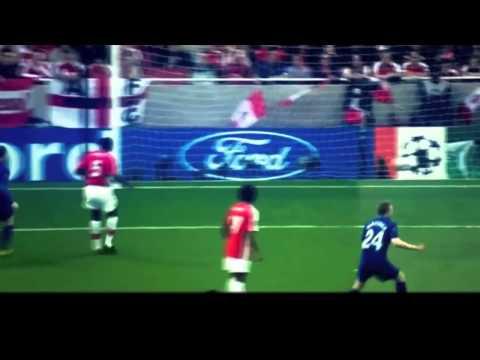 Cristiano Ronaldo Golazo Free Kick Manchester United vs Arsenal Champions League 2009 Semifinals