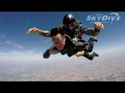Goon Mo Koo's Tandem skydive!