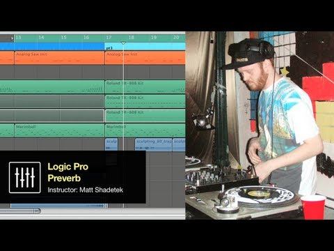 'Preverb' Logic Pro Space Designer Tutorial: Creating Reverb Effects w/ Matt Shadetek