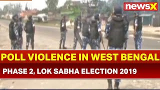 Lok Sabha Election 2019 Phase 2 Voting, India Votes: Poll Violence in Raiganj, West Bengal - NEWSXLIVE