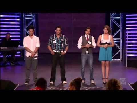 American Idol 10 - Jovany Barreto, Kevin Campos, Jorge Gabriel & Karen Rodriguez  - Hollywood Group