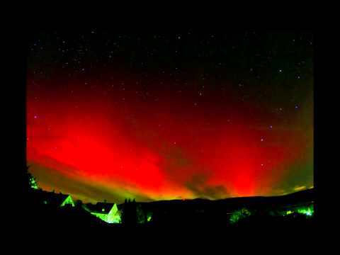 Aurora Borealis - real time lapse - Polarlicht in Deutschland (Zeitraffer) - HD-Version