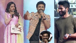 Venkatesh SUPER FUN With Suma and Naga Chaitanya @ Venky Mama Musical Night Event | TFPC - TFPC