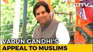 Varun Gandhi's Message To Muslims Is Poles Apart From Maneka Gandhi's - NDTV
