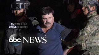 Joaquin 'El Chapo' Guzman Being Extradited to the US - ABCNEWS