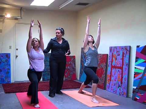 "FULL EPISODE- ""Yoga Flow"" fluid yoga combos with Mary Fanto on Real Hollywood Trainer"