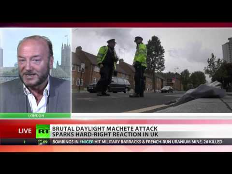 George Galloway speaks to RT about Woolwich murder. 2013