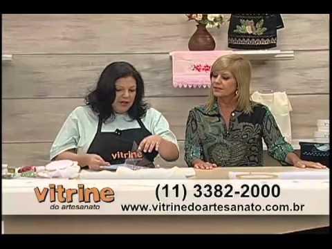 Crisântemo de Bordado Indiano com Valquiria Campanelli - Vitrine do Artesanato na TV