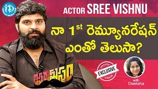 Thippara Meesam Movie Hero Sree Vishnu Full Interview || Talking Movies with iDream - IDREAMMOVIES