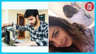 Varun Starts Working On 'Sui Dhaaga' | Priyanka Wears Her Name To Bed - ZOOMDEKHO