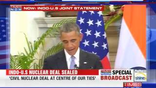 'Namaste! Mera Pyar Bhara Namaskar', says President Barack Obama - TIMESNOWONLINE