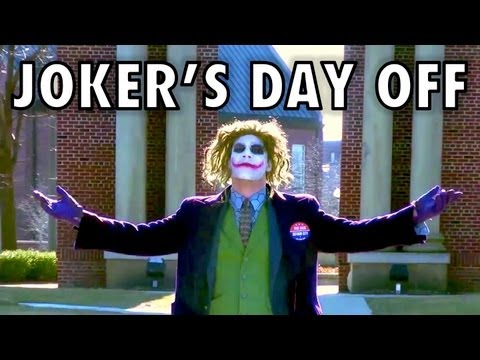 Joker's Day Off (In Real Life)......Batman/The Dark Knight Rises