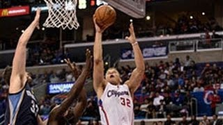 Blake Griffin's Huge Follow Dunk Over His Teammate
