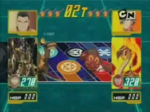 "Bakugan - Odcinek 1 ""Początek Bitwy"" Dan vs. Shuji"