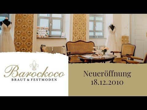 Beispiel: Geschäftseröffnung, Video: Barockoco Braut & Festmoden.