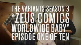 """The Variants episode 1 """"Zeus Comics Worldwide"""" funny comic shop webseries"""
