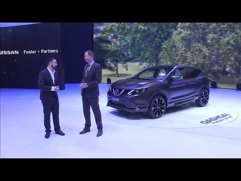Autoperiskop.cz  – Výjimečný pohled na auta - Autosalon Ženeva 2016 – Nissan Qashqai Premium Concept, Nissan X-Trail Premium Concept, IDS Concept – VIDEO