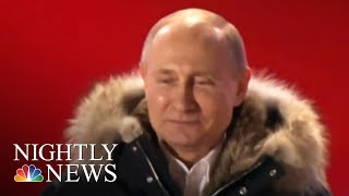 Vladimir Putin wins re-election for fourth term | NBC Nightly News - NBCNEWS