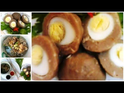 Cara Membuat Bakso : Cara Membuat Bakso Sapi Isi Telur