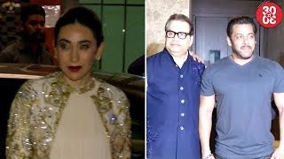 Salman, Sohail, Karisma Attend Arpita's Diwali Party | Kriti, Daisy, Riteish Attend Ramesh's Party - ZOOMDEKHO