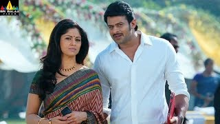 Mirchi Movie Prabhas and Nadiya Scene | Latest Telugu Movie Scenes | Sri Balaji Video - SRIBALAJIMOVIES