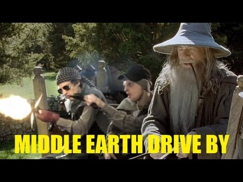 Lord of the Rings goes gangster