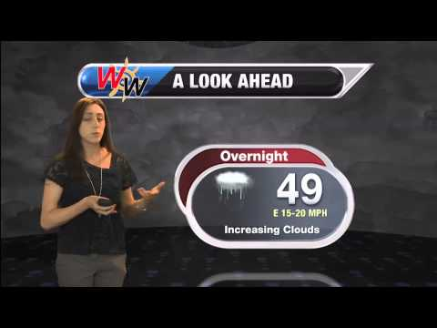 April 19th, 2015 Afternoon Forecast