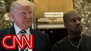 Panelist: Kanye West being demonized for supporting Trump - CNN