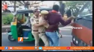 BJP Activists Assault Balakrishna House Over Comments ON PM Narendra Modi | iNews - INEWS