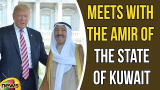 Trump Meets with The Amir Of The State of Kuwait In The Oval Office Of The White House | Mango News - MANGONEWS