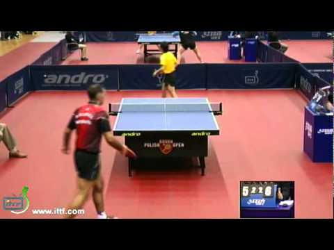 Petr Korbel vs Koki Niwa[Polish Open 2011]