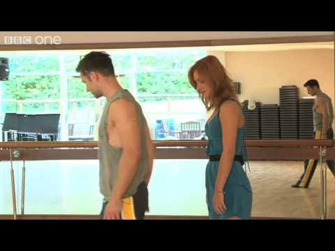 Aliona Vilani and Harry Judd - First Rehearsal - Strictly Come Dancing 2011 - BBC One