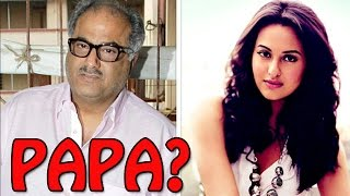 Sonakshi Sinha addresses Arjun Kapoor's father as 'PAPA' | Tevar Movie
