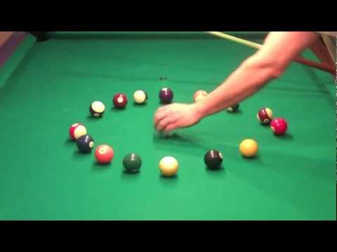 Billiard Lessons - The Circle Drill