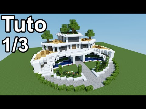 Minecraft tutoriel - Maison moderne ! 1/3