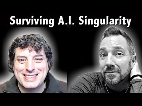 🔴 LIVE: Surviving The Artificial Intelligence (A.I.) Singularity - Jacob Israel