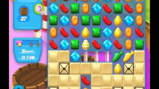 guide, tips, and cheats from Candy Crush Soda Saga Level 135 in video