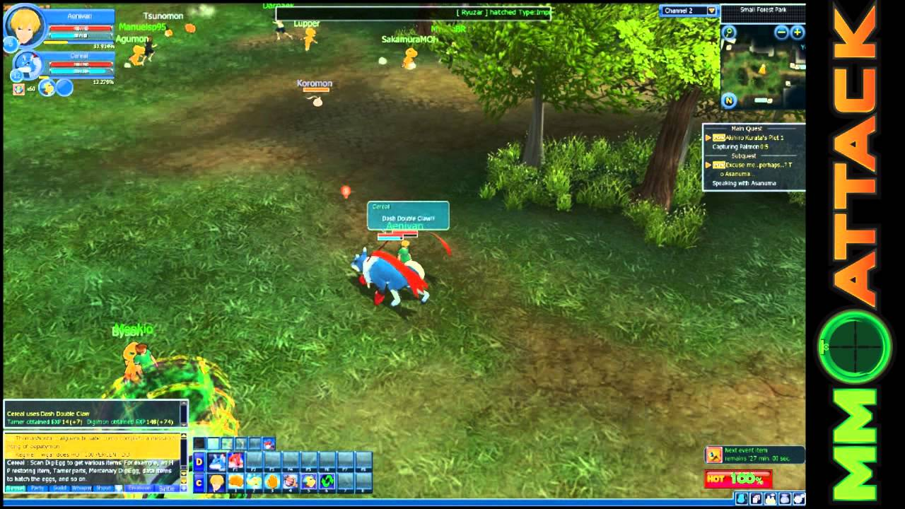 MMO Video Review: Digimon Masters