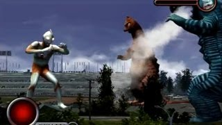 Ultraman PS2 (Story Mode Part 7) Ultraman vs Banila & Aboras