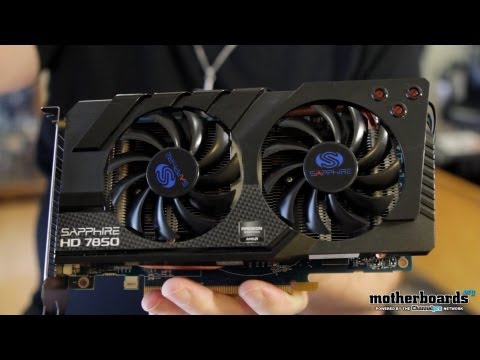 Sapphire HD 7850 OC Edition 2GB Video Card Review & Benchmarks