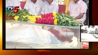 Director Bapu Funeral To be Held @ Chennai Today : TV5 News - TV5NEWSCHANNEL