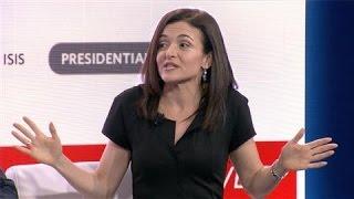 Sheryl Sandberg Says Facebook Increases Voter Turnout - WSJDIGITALNETWORK