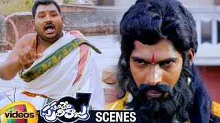 Dhanraj Warned by a Preacher | Panileni Puliraju 2018 Telugu Full Movie Scenes | Swetha Varma - MANGOVIDEOS