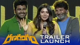 Kalyani Priyadarshan Cute Telugu Speech At Ranarangam Trailer Launch - TFPC