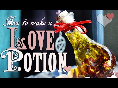 How to Make & Spellcraft a Love Potion Spell. DIY ~ The White Witch Parlour's Jenna Caprice