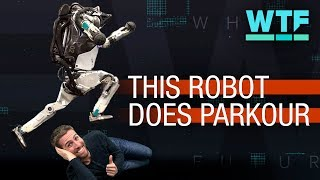 Boston Dynamics Atlas robot does parkour | What the Future - CNETTV