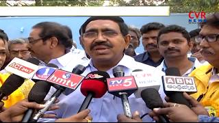 AP Minister Narayana 2nd day Visits in Nellore District | CVR NEWS - CVRNEWSOFFICIAL
