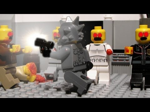 Lego zombie hunters - Lego zombie movie